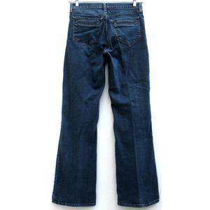 NYDJ Wide Leg Flare Dark Wash Stretch Sz 29